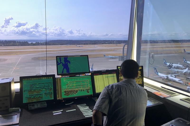 Sea-Tac Airport Ramp Tower