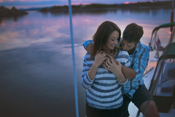 Joanna & Shaun {Surprise Proposal}