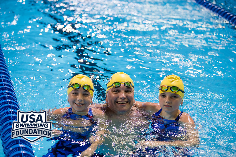 The USA Swimming Foundation Swim with Lezak took place July 3, 2016  Photo: Bold Action Media