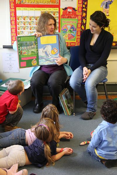 Reading With Bananas, Child Development, Tamaqua (11-29-2012)