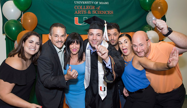 Commencement Reception - May 12, 2017