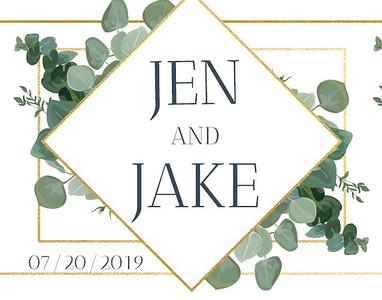Jen & Jake's Wedding