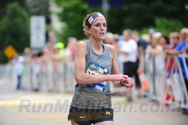 USATF Masters Women's Mile Finish - 2018 Crim - Friday