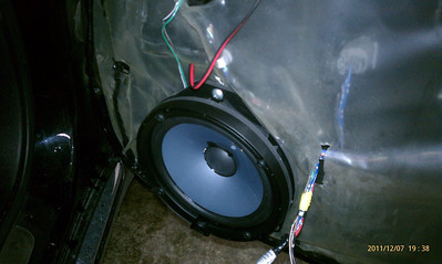 2008 Subaru Legacy 3.0R Limited Front Speaker Installation - USA