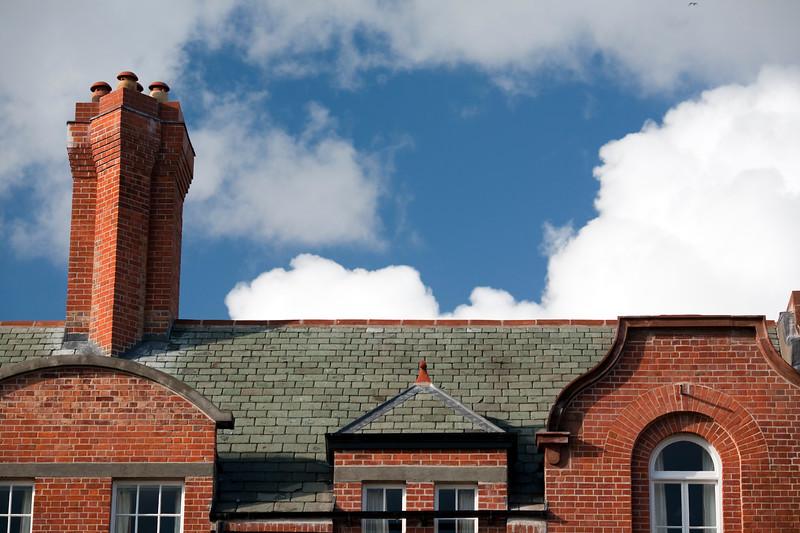 Roof, Trinity College, Dublin, Ireland