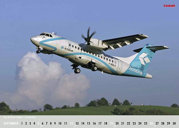 Cockpit Calendar – Airliner Sep 2010