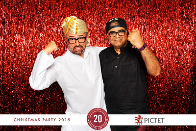 Bank Pictet Christmas Party '15