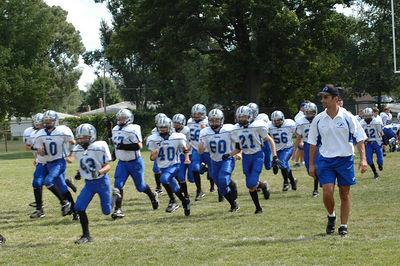 Shelby Lions Football Club - 2005 Varsity Team