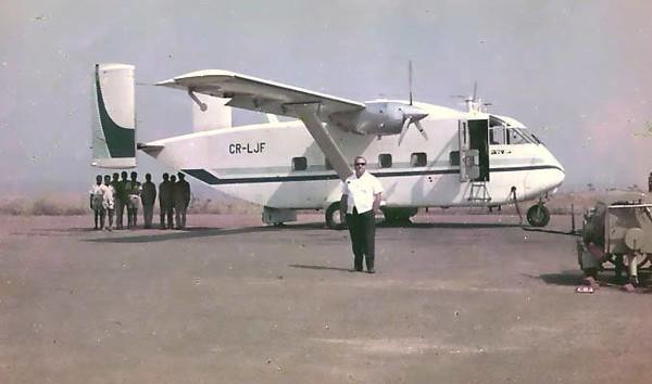 Dundo - Skyvan ( Lima Juliet Foxtrot)