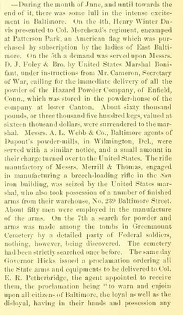 History of Baltimore