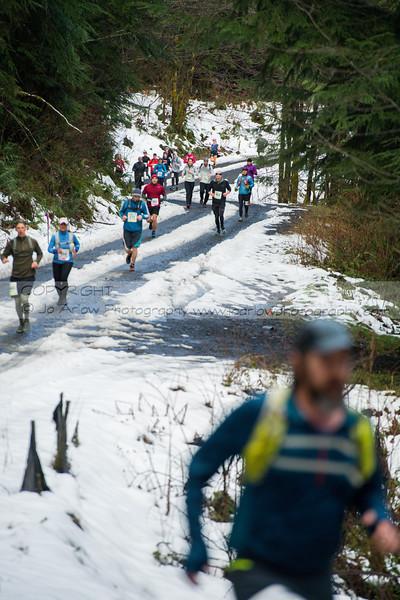 Mountain Marathon, Hillbilly Half & 5k March 3, 2018