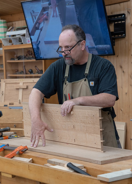 Arts & Crafts Entry Table with Mike Pekovich
