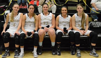 Basketball - LHS Girls 2015-16 - Central