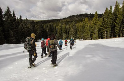 MWA Snowshoe Hyalite Meadow Tour 2015