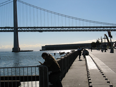 The Bay Bridge and Museum of the African Diaspora