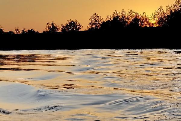 Coucher de soleil en Loire - Chaumont sur Loire