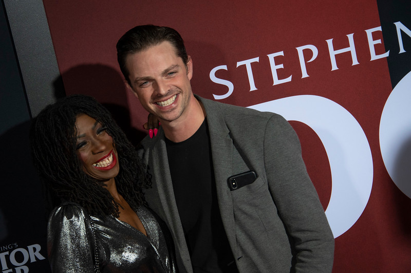 """LOS ANGELES, CALIFORNIA - OCTOBER 29: Brian Fortuna and Heather Small attend the premiere of Warner Bros Pictures' """"Doctor Sleep"""" at Westwood Regency Theater on Tuesday October 29, 2019 in Los Angeles, California. (Photo by Tom Sorensen/Moovieboy Pictures,)"""