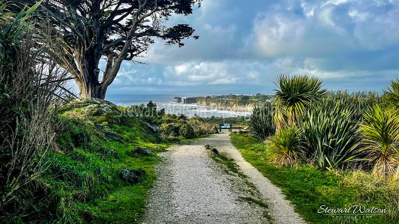 Cape Foulwind coastal lighthouse walk 10