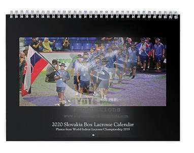 2020 Slovakia Box Lacrosse Calendar