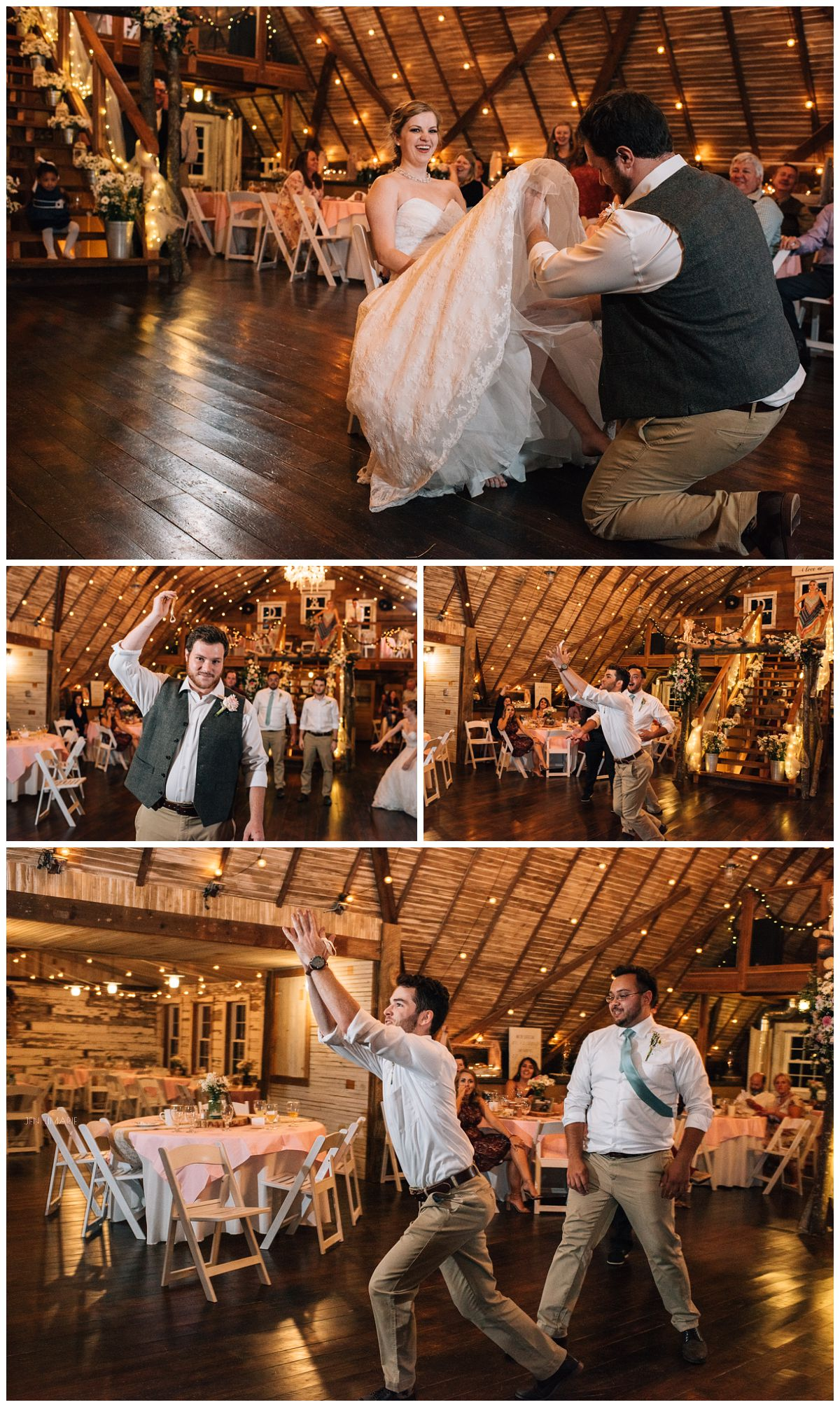 wedding at the barn at blueberry hill