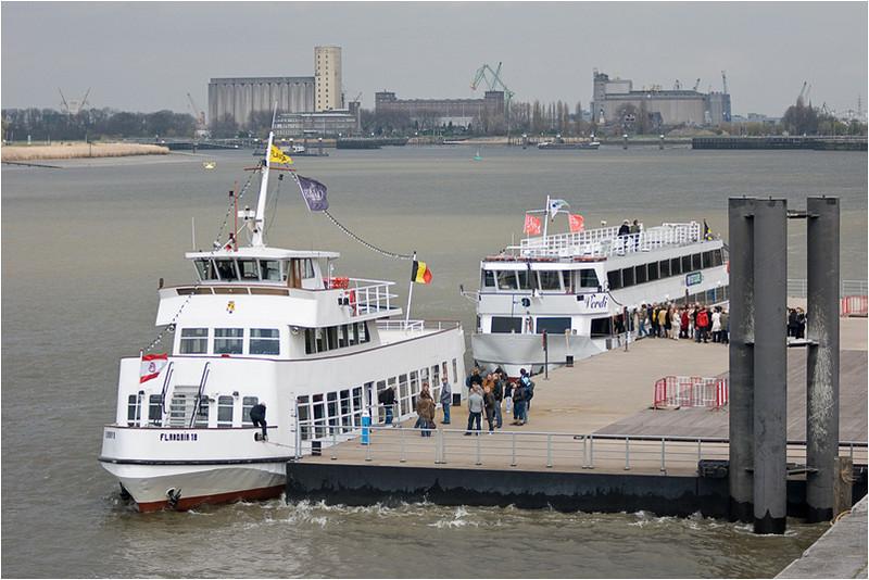 Antwerp Harbour Tour Boats; DG Q