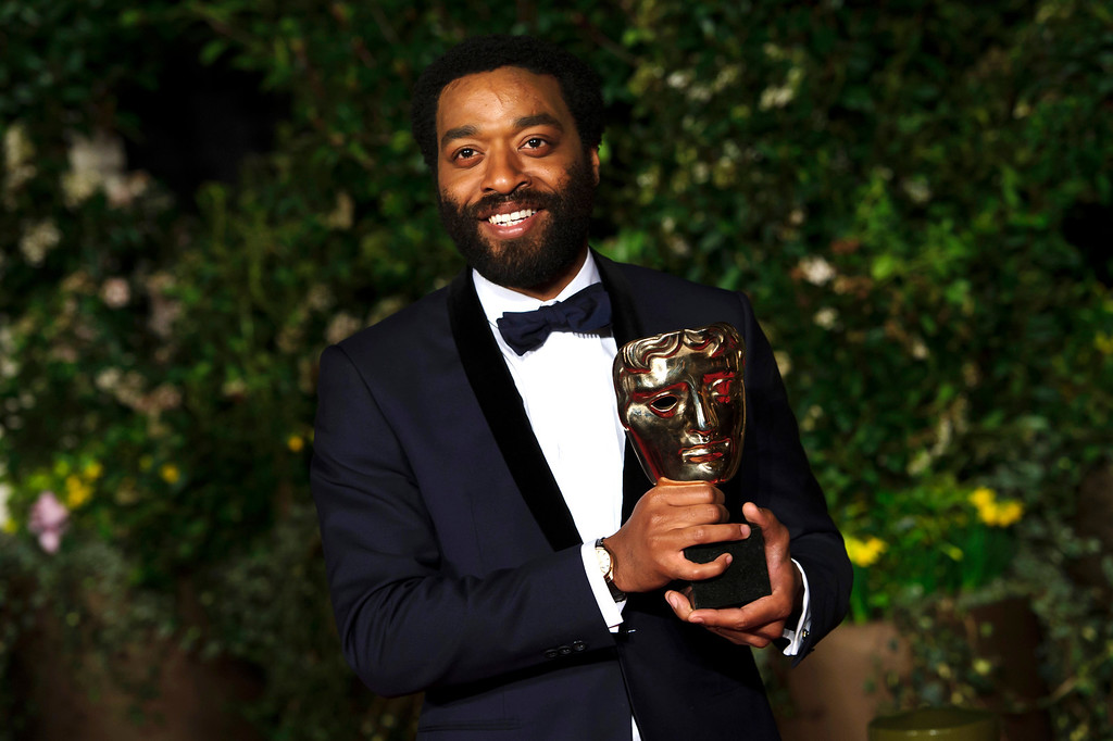 ". 2014 Academy Award Nominee for Best Actor in a Leading Role: Chiwetel Ejiofor in ""12 Years a Slave.\"" (Photo by Jonathan Short/Invision/AP)"