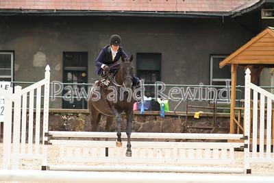 Ladies Hunter Side Saddle Over Fences