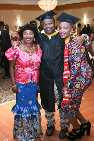 Okoro Graduation Reception