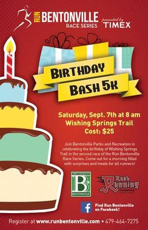 Birthday Bash 5K 2013
