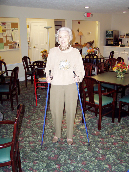 Nordic Walking at 94 years young