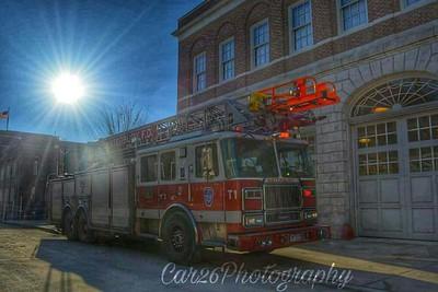 Station Shoot -Waterbury Station 10, Waterbury, CT - 1/15/17