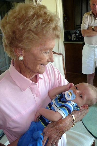 Elliot and Great Grandma