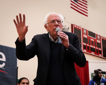 Bernie Sanders Town Hall Meeting at MHS
