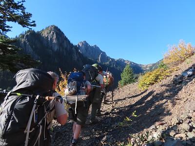 Mt Buckhorn Climb - Oct 2-4