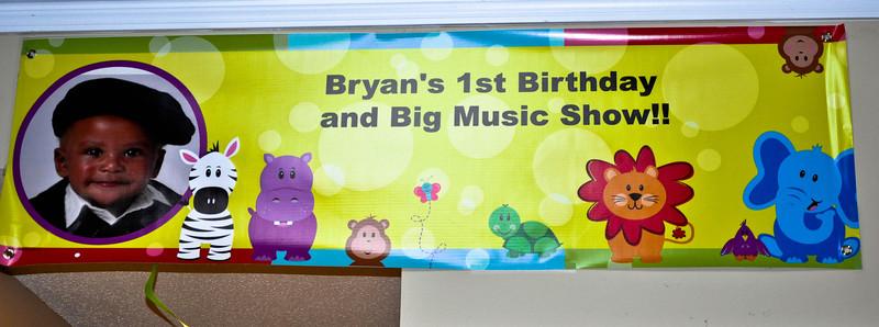 Bryan's 1st Birthday & Big Music Show