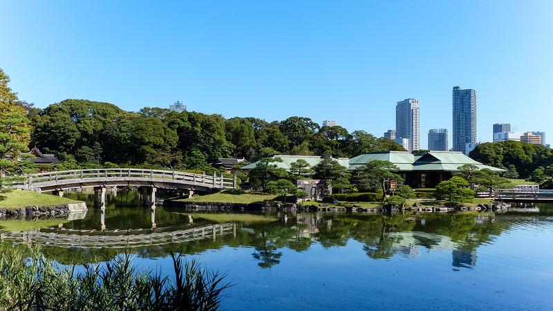 Tokyo Hama Rikyu tuin