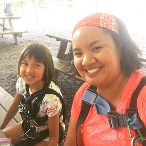 2017-06-24 Zip Lining with the Girl Scouts