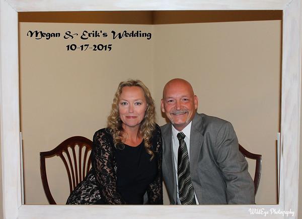 Megan & Erik Johnson Photo Booth