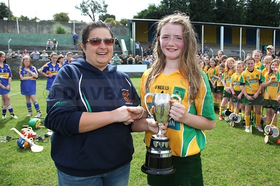 Donard/Glen U13A Camogie Final 2014