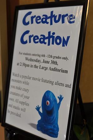 Teen Creature Creation, Summer 2010