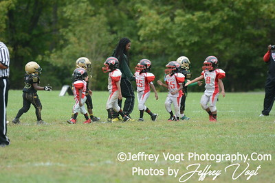 09-13-2014 Montgomery Village Sports Association Chiefs vs Forestville Falcons Super Tiny Mites, Photos by Jeffrey Vogt Photography