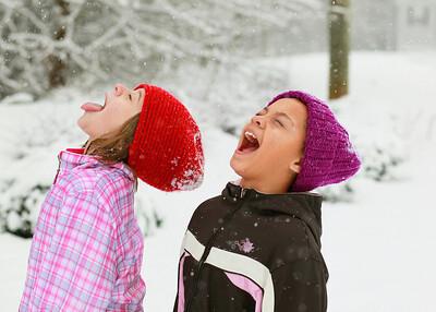 Valerie & Kaitlyn's Snow Day