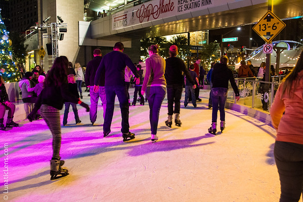 Cityscape Ice Rink 2015