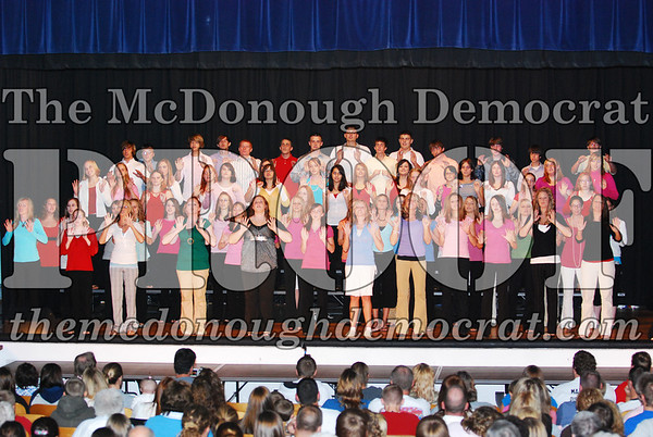 HS Choir Variety Show 10-16-07