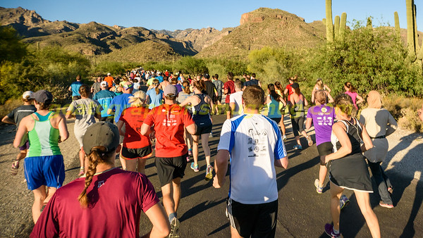 Sabino Canyon Sunset Run 2016