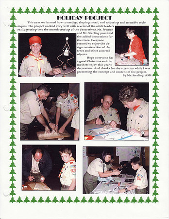 December 2000 Troop Talk - Volume 1, Issue 11