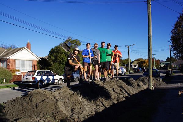 2011.04.30 - Liquefaction cleanup, Christchurch