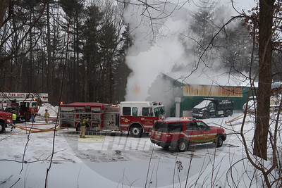 Garage Fire - Hollis, NH - 1/21/2019