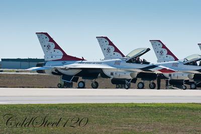 Thunderbirds 2010 at Martinsburg