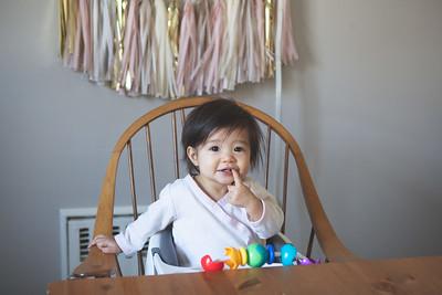 Violet's First Birthday